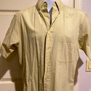 2/$20 Bill Blass Men short sleeves shirt S